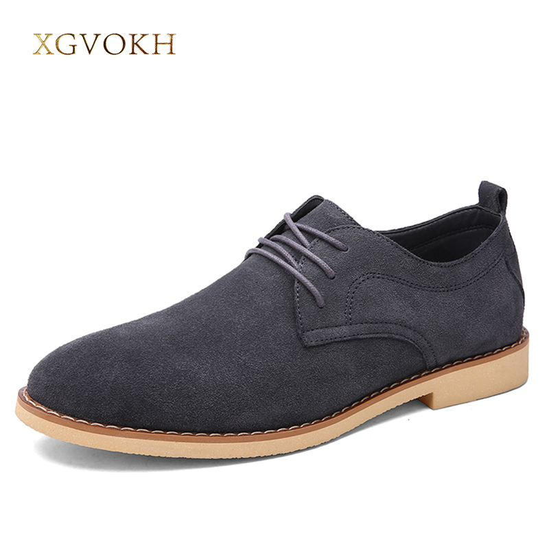Men Shoes Genuine Leather Business Flats Solid Spring/Autumn Mens XGVOKH Brand Fashion Black Popular Casual Dress Oxford 2017 fashion italian luxury dress mens shoes genuine leather black brown design flats for men business ol shoes brand oxford