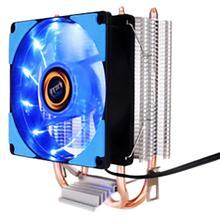 цены 160W 90mm LED CPU Fan Aluminum Heatsink 4 Heatpipes CPU Cooler for LGA 775/1150/1151/1155/1156/1366 & FM1/2,AM2+/3+  TDP