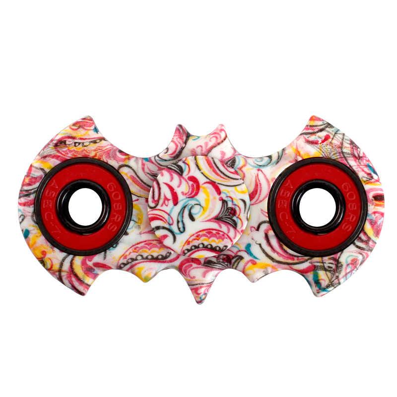Блесны Непоседа игрушка batmsan изделие стиль abs EDC руки Spinner Для аутизма и время вращения Длинные анти-стресс игрушки