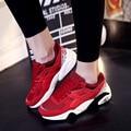 2016 Mujeres de Señora Zapato Casual Zapatos de Mujer Zapatillas Mujer Casual zapatos Planos Calzado Trinoming Entrenadores Zapatos Tamaño 36-40