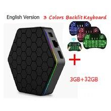 3 ГБ/16 ГБ T95Z плюс Amlogic S912 Android 6.0 TV Box 3 ГБ 32 ГБ Octa Core Dual Wi-Fi H.265 Smart T95z Plus top box tv