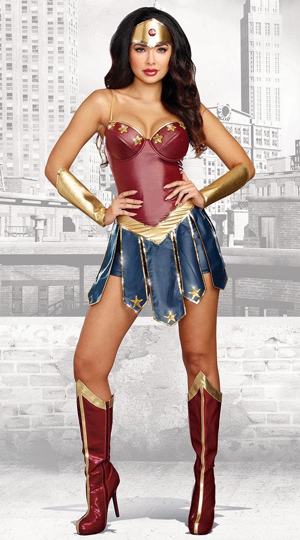 Halloween Wonder Woman Fantasy Hero Costume Dawn Of Justice Surperhero Fancy Dress Cosplay Costume PartyWonder Woman