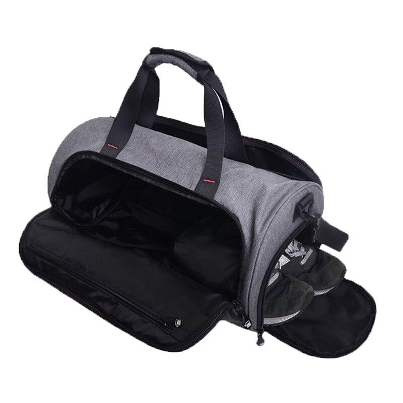 ee9988393e6 Waterproof Shoulder Sport Gym Bag for Shoes Storage Women Fitness Yoga  Training Bags Men s Gymnastic Handbag Crossbody X584YL