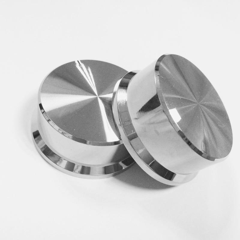 45*17  Lamp Cup Transparent Lamp Cup Plating Knob Potentiometer Knob Sound Pervious To Light Glass Knob Knob,free Shipping