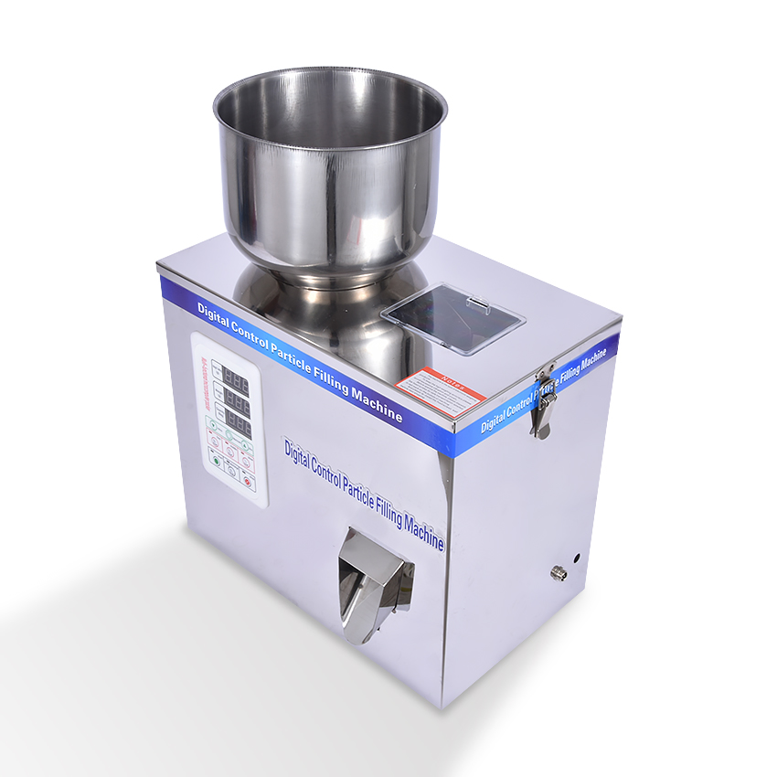 2-50g Packing Machine For Tea Computer intelligent sub-installed machine Granule Packing Machine,Sealing Tablet Weighing Machine