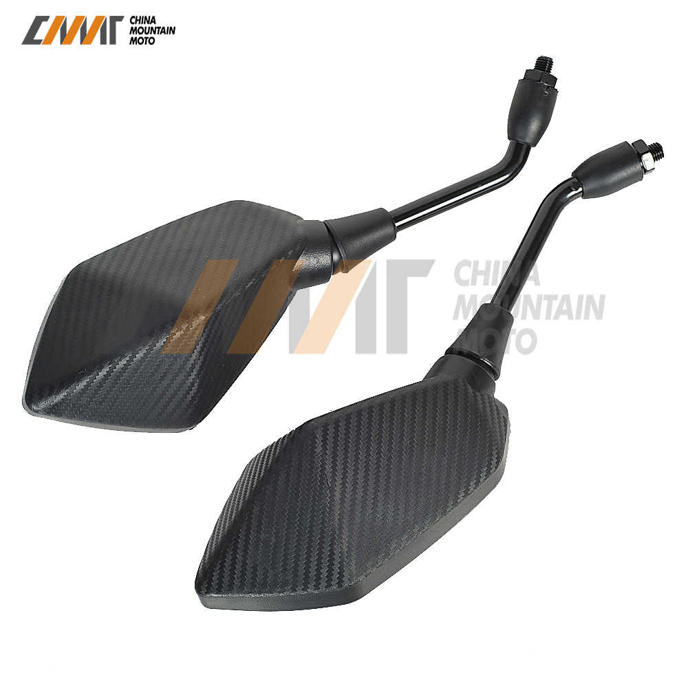 M10 10mm Motorrad Rückspiegel Fall für kawasaki Z300 ER-6N ER-6F ER-5 Z800 Z900 Z1000 Z750 W800 ZRX 400 1100 1200