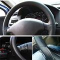 Nuevo coche de la llegada cubierta del volante Universal Pu DIY con agujas y línea