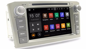 FOR TOYOTA AVENSIS 2005-2007 Android 7.1 Car DVD player gps audio multimedia auto stereo support DVR WIFI DSP DAB OBD