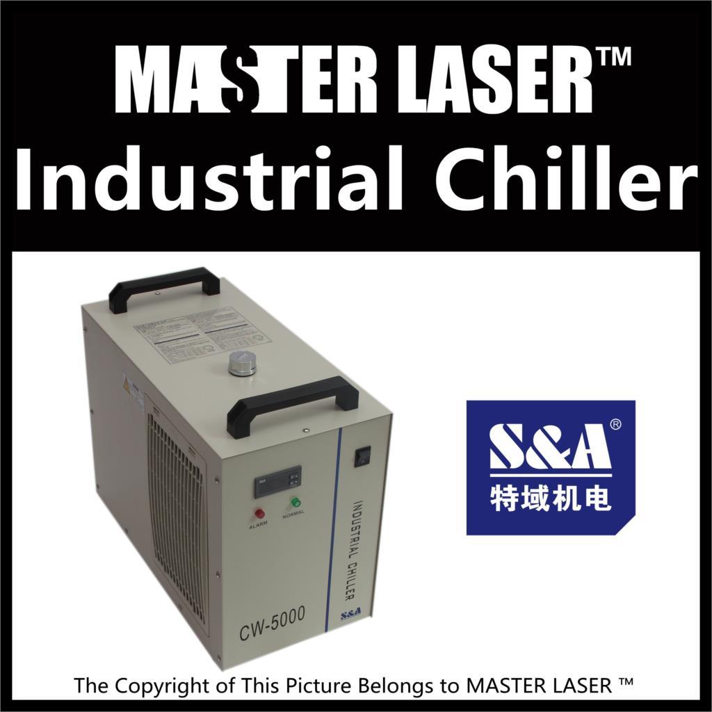 CO2 Laser Cutting Machine Industry Water Cooling Machine CW-5000 BG 110v/60hz 100w Laser Chiller