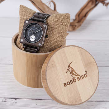 relogio masculino BOBO BIRD Men Watch erkek kol saati Luxury Wooden Watches Waterproof Great Gift for Boyfriend Accept Logo