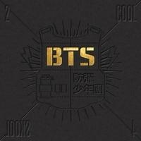 BTS SINGLE ALBUM 2 COOL 4 SKOOL INCLUDE CD DISC KPOP ALBUM KOREA VERSION