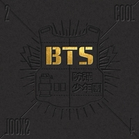 BTS SINGLE ALBUM 2 COOL 4 SKOOL INCLUDE CD DISC KPOP ALBUM KOREA VERSION