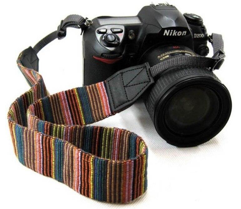 Vintage Retro Pattern Camera Neck Shoulder Strap Belt for All Canon Nikon Sony SLR/DSLR Camera