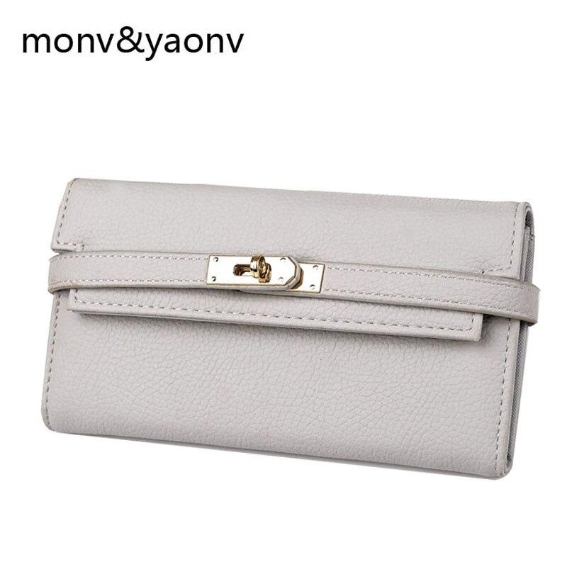 Women PU Leather Bifold Cash Card Holder Wallet Coin Clutch Long Hasp Wallet In Women Wallet Famous Brand Purses Female Bag