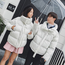 Size M-5XL Men Women Winter Thick Parkas Jacket Male Fashion Casual Loose Coat Oversize Overcoat