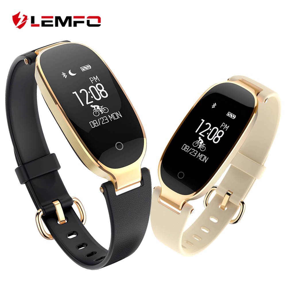 LEMFO S3 Smart Wristbands Fitness Bracelet Heart Rate Monitor Smart Band Fitness Bracelet Band Bluetooth For
