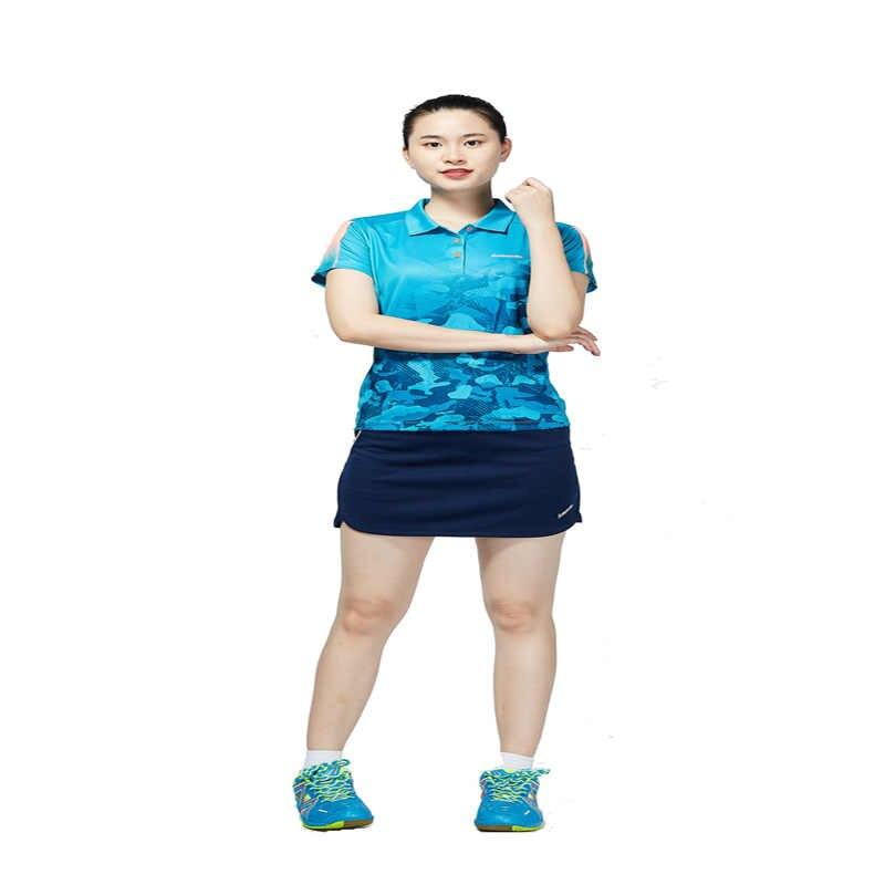2019 Kawasaki oddychający poliester tenis Skorts spodnie damskie spódnica anty-opróżnione spódnice do gry w badmintona, bieganie, Fitness, SK-T2703