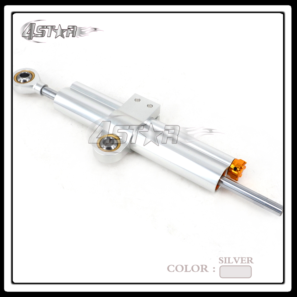 Universal Motorcycle Steering Damper Stabilizer Linear Reversed Safety Control For CRF YZF DRZ RMZ KLX KXF NC GSXR CBR FJR ZRX universal motorcycle olhins steering damper aluminum alloy steering damper stabilizer linear reversed safety control 5 colors