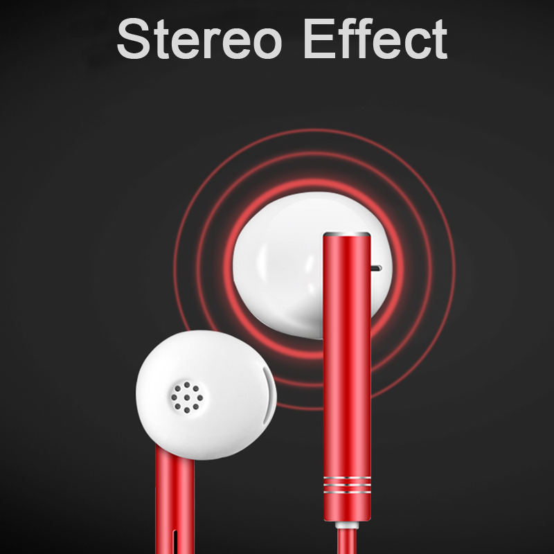 Rehimm In Ear Wired Earphone Sport Music Phone Earbuds MIC Wire Control Heavy Bass Stereo Headset in Phone Earphones Headphones from Consumer Electronics