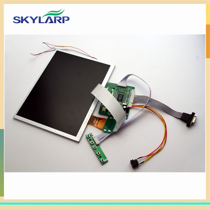 Skylarpu 10.4 inch TFT A104SN03 V1 LCD screen+driver board Free shipping 18 5 inch g185xw01 v 1 g185xw01 v1 lcd display screens