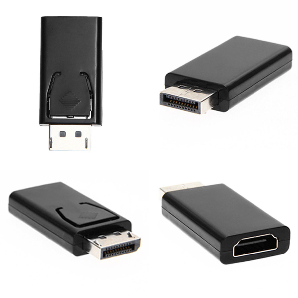 Display Port DP Male to HDMI Female Converter Cable Adapter Video Audio connector Fit for MacBook Pro Air to HDTV PC 1080P