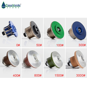 Image 5 - A20 diamond router bit wheels with M10 arbor diamond  grinding wheels for granite and marble