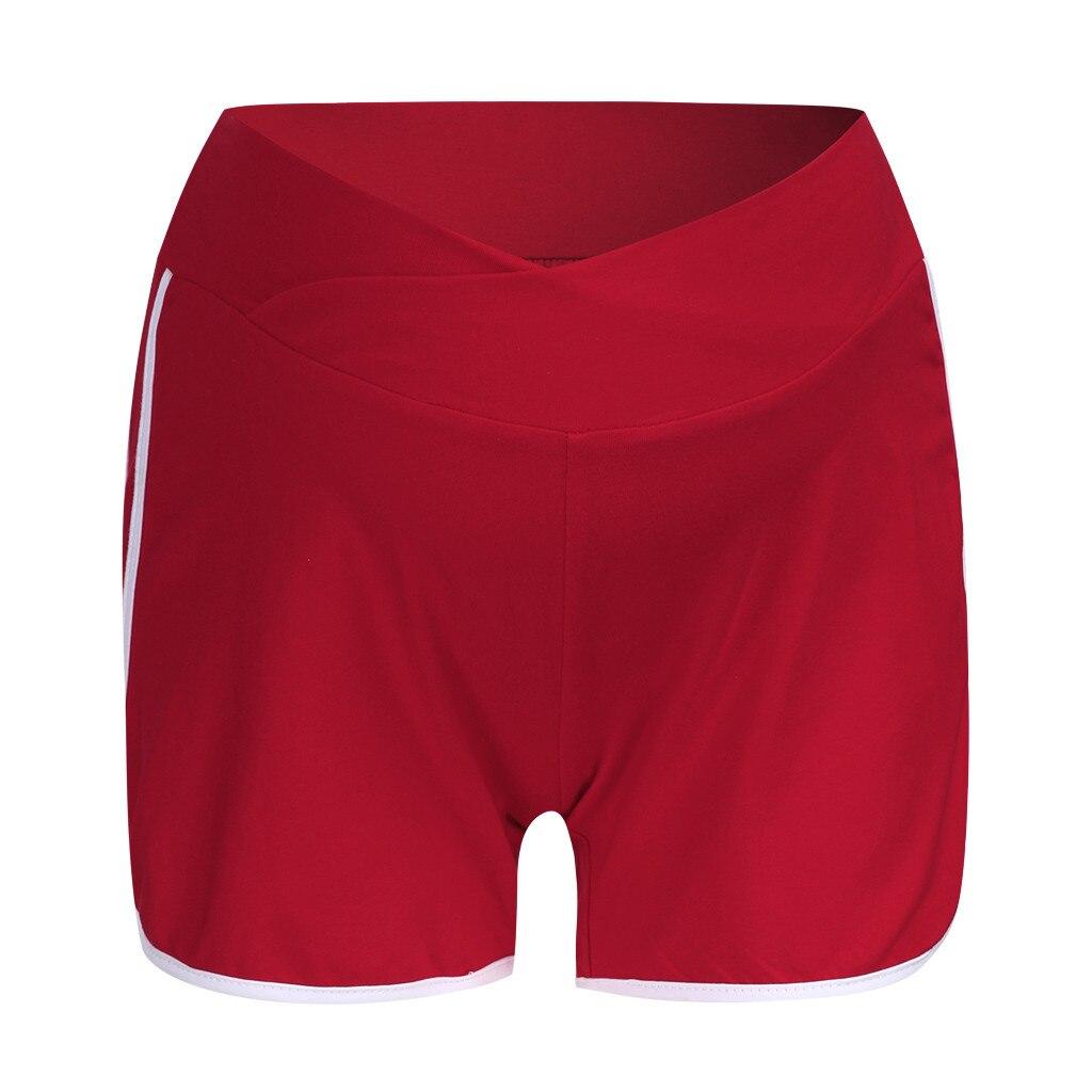 ARLONEET летние шорты для беременных с низкой талией, тонкие хлопковые шорты, Одежда для беременных женщин, повседневная спортивная одежда для беременных - Цвет: WE