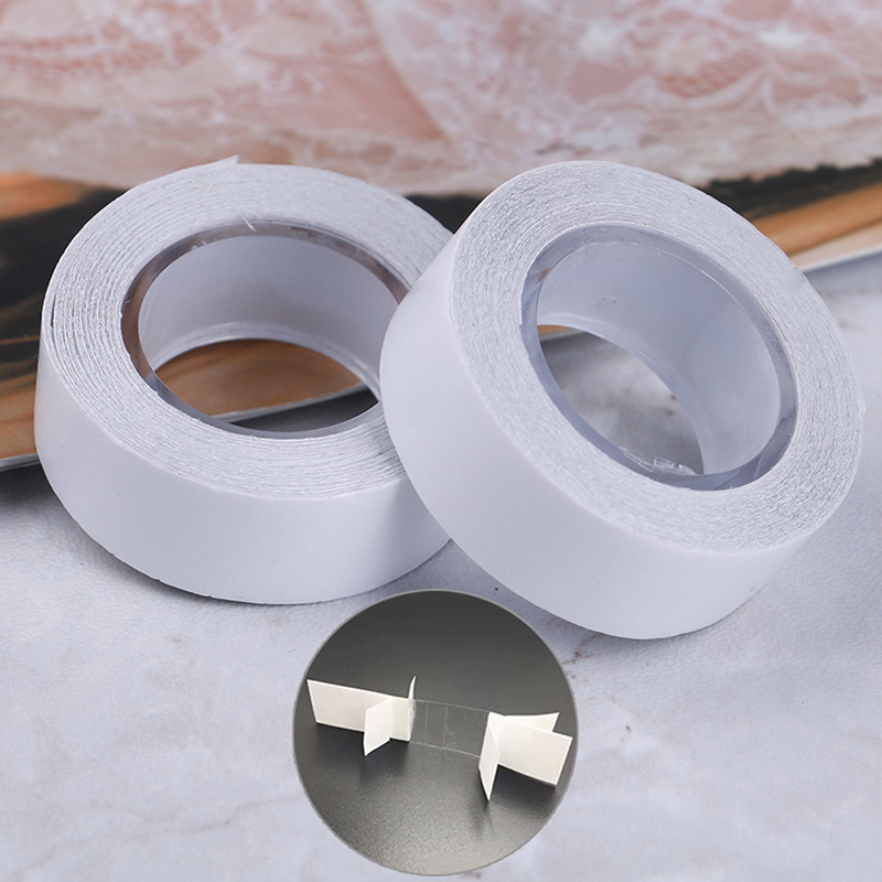 1PC 5M Medical Double-Sided Body Tape Adhesive Safe Lingerie Tape Clear Bra Strip Chest Sticker Nipper Paste Beauty Tool