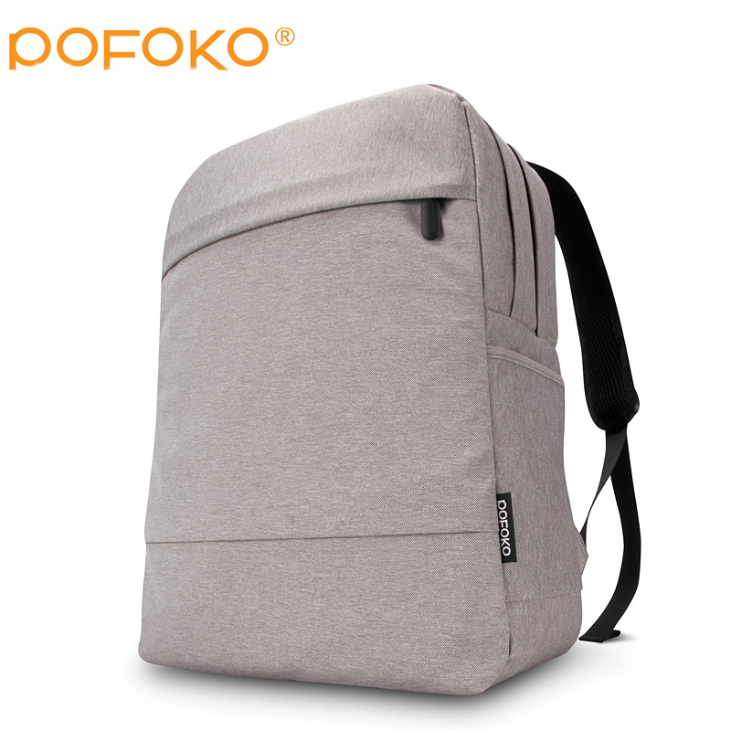 POFOKO Men and Women Laptop Backpack 15.6 15 Inch Rucksack SchooL Bag Travel waterproof Backpack Male Notebook Computer Bag mst6m48rhs lf z1