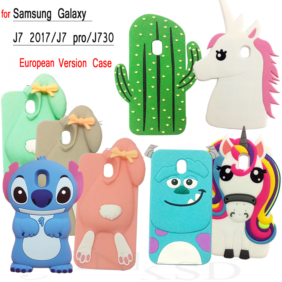 various colors 490ff 1754d US $2.99 |For Samsung Galaxy J7 2017 Case for SAMSUNG J7 2017 J730 J7 PRO  Cases NEW 3D Cartoon Soft Silicone Case Squishy Funny Cat Phone-in Phone ...