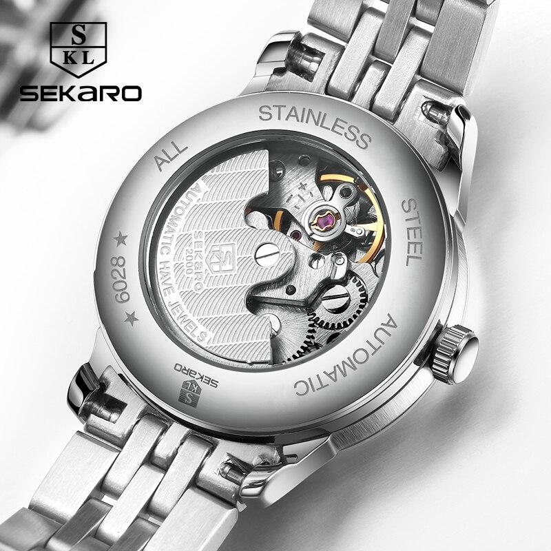 Sekaro mærke kvinders mekaniske ur luksus berømte automatiske watch - Dameure - Foto 5