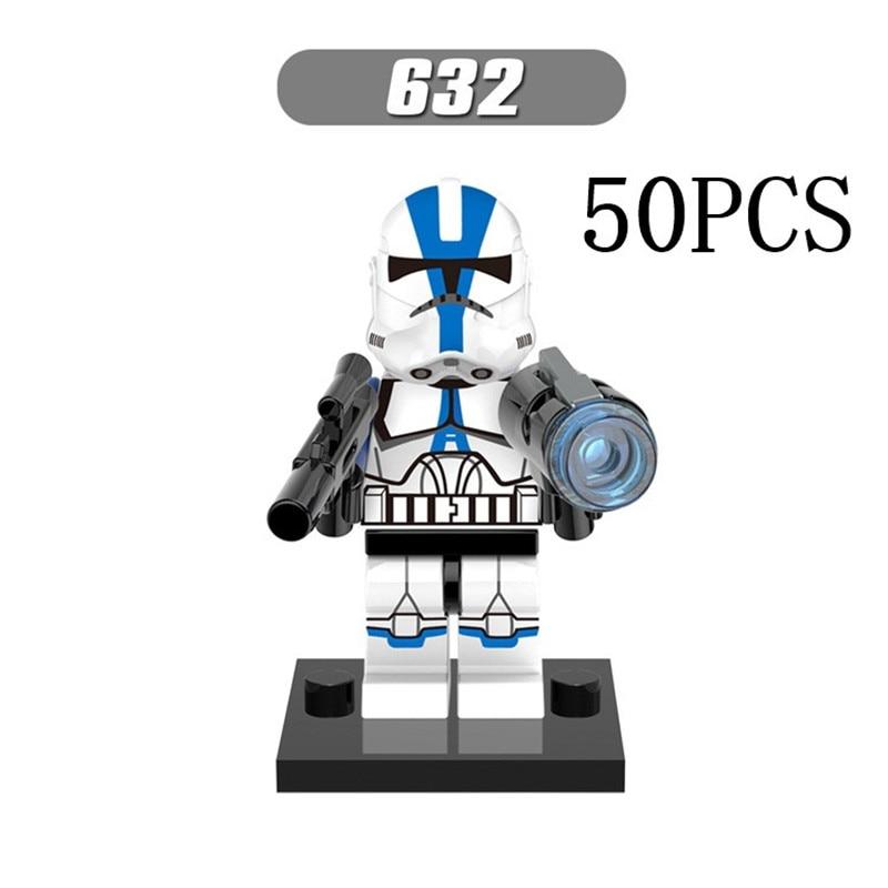 Gifts Star Wars Pogo XINH Wholesales XH632 Commander April 50PCS Building Blocks Bricks Toys Action Figures compatible legoe