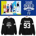 Kpop SHINee jerseys camisa com capuz de lã com capuz casaco de manga longa k-pop SHINee inverno casacos roupas casuais com capuz topos