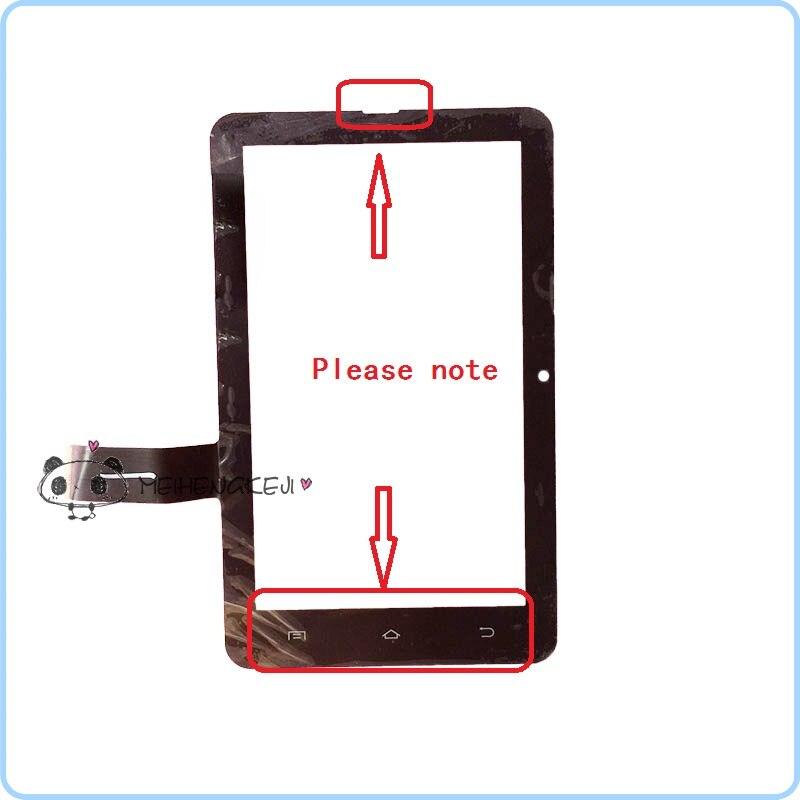 Nouveau 7 ''pouces Écran Tactile Digitizer Panneau en verre Pour Treelogic Gravis 73 3G 8 GB Tablet PC