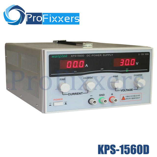 KPS1560D High precision Adjustable LED Dual Display Switching DC power supply 220V EU 15V/60A