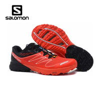 Salomon S LAB red SENSE M Men Shoes Outdoor Jogging Sneakers Lace Up Athletic Shoes running Shoes Men's Shoes size 40 46