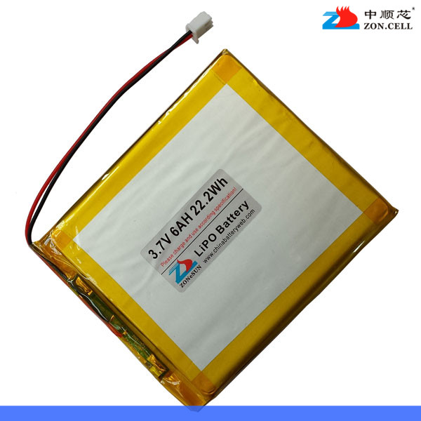 Shipping in core 6000mAh 3.7V lithium polymer battery GPS tablet computer MID charging treasure 528095 Rechargeable Li-ion Cell free shipping brand teclast taipower p76s tablet pc mid large capacity lithium battery 357090 panels