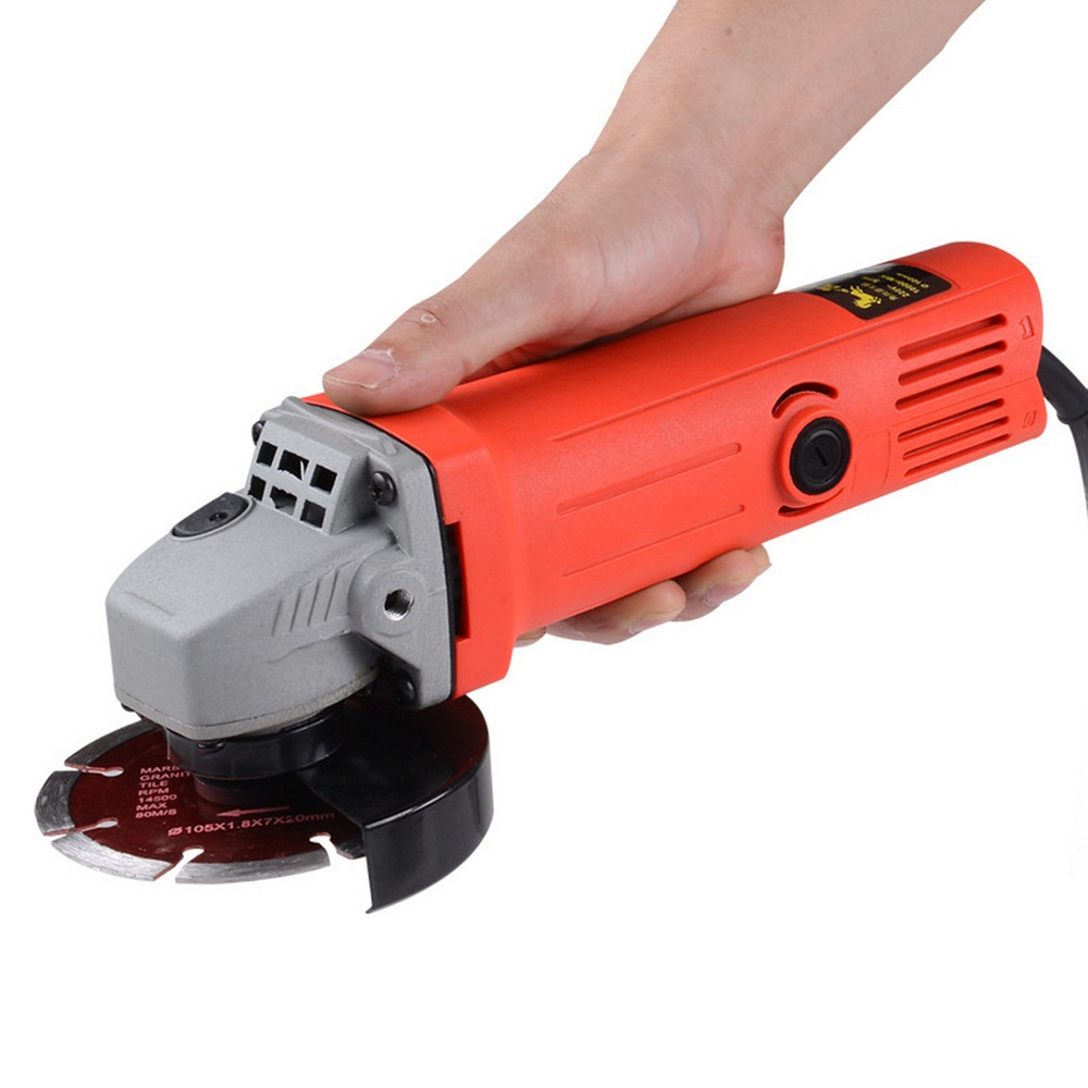 Multifuctional Single speed Angle Grinder Woodworking Power Tools Electric Grinding machine for Home DIY