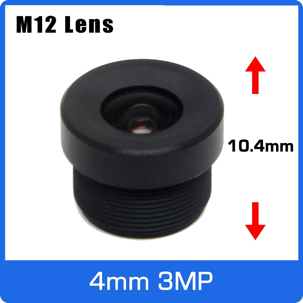3Megapixel 4mm 1/2.7 Inch CCTV Short Length Lens 104 Degree Wide Angle For WIFI Camera/Car Driving Recorder/Video Doorbell