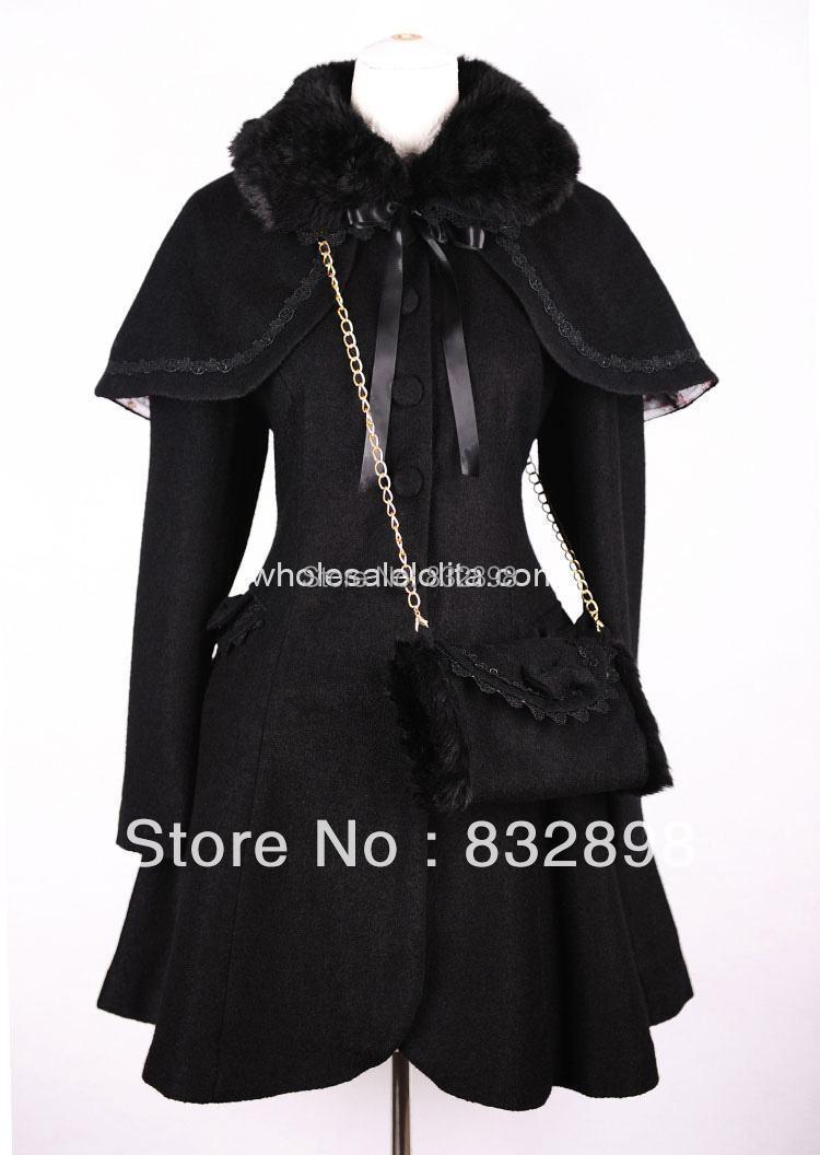 Popular Girls Long Black Coat-Buy Cheap Girls Long Black Coat lots
