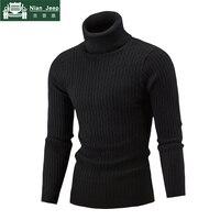 2018 г. новые зимние Для мужчин s свитер для повседневной носки и пуловеры удобные Утепленная одежда Для мужчин свитера и трикотажные Свитеры ...