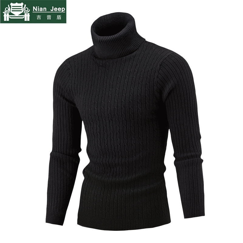 NEW 2018 Winter Mens Casual Sweater And Pullovers Comfortable Keep Warm Men's Sweaters & Knitted Turtleneck Sweaters M-XXL