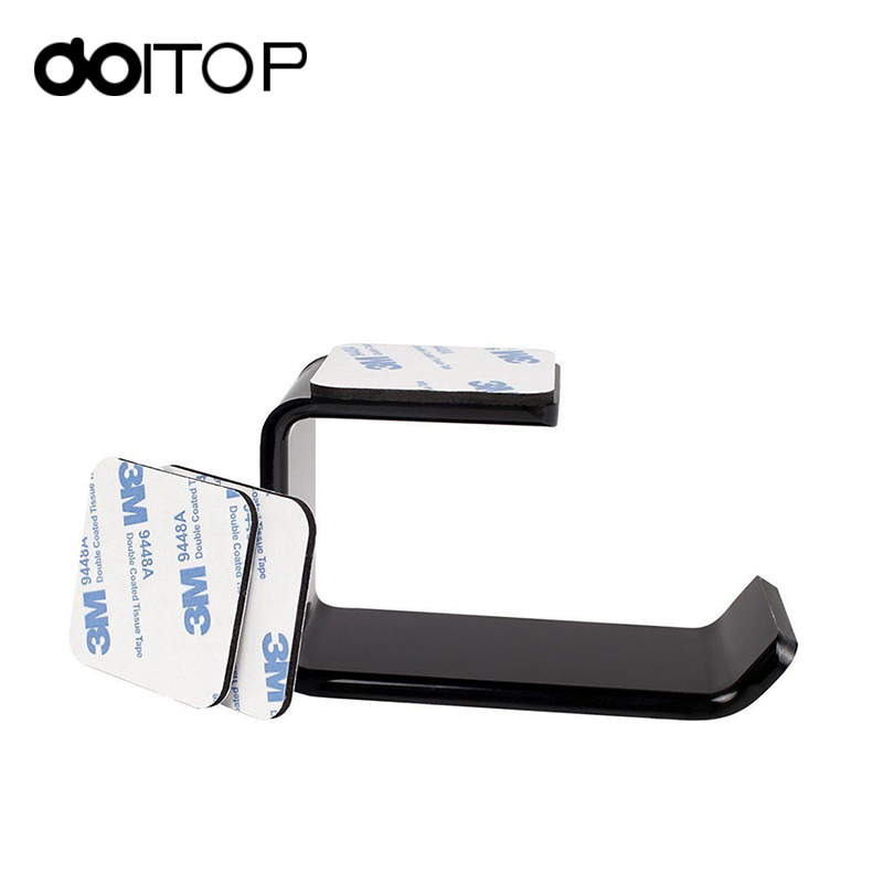 DOITOP Headphone Headset Holder Hanger Earphone Wall/Desk Display Stand Bracket Hanger Headphone Accessories