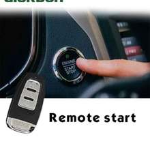 Car alarm with auto start Start stop security Central locking key fob With antenna Keyless entry system PKE
