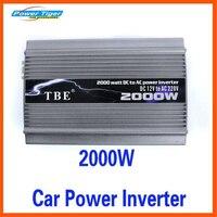 2000 Вт пик Мощность 2000 Вт автомобильный преобразователь Мощность инвертор DC 12 В к AC 220 В инвертор модифицированный синус волна Авто электронн