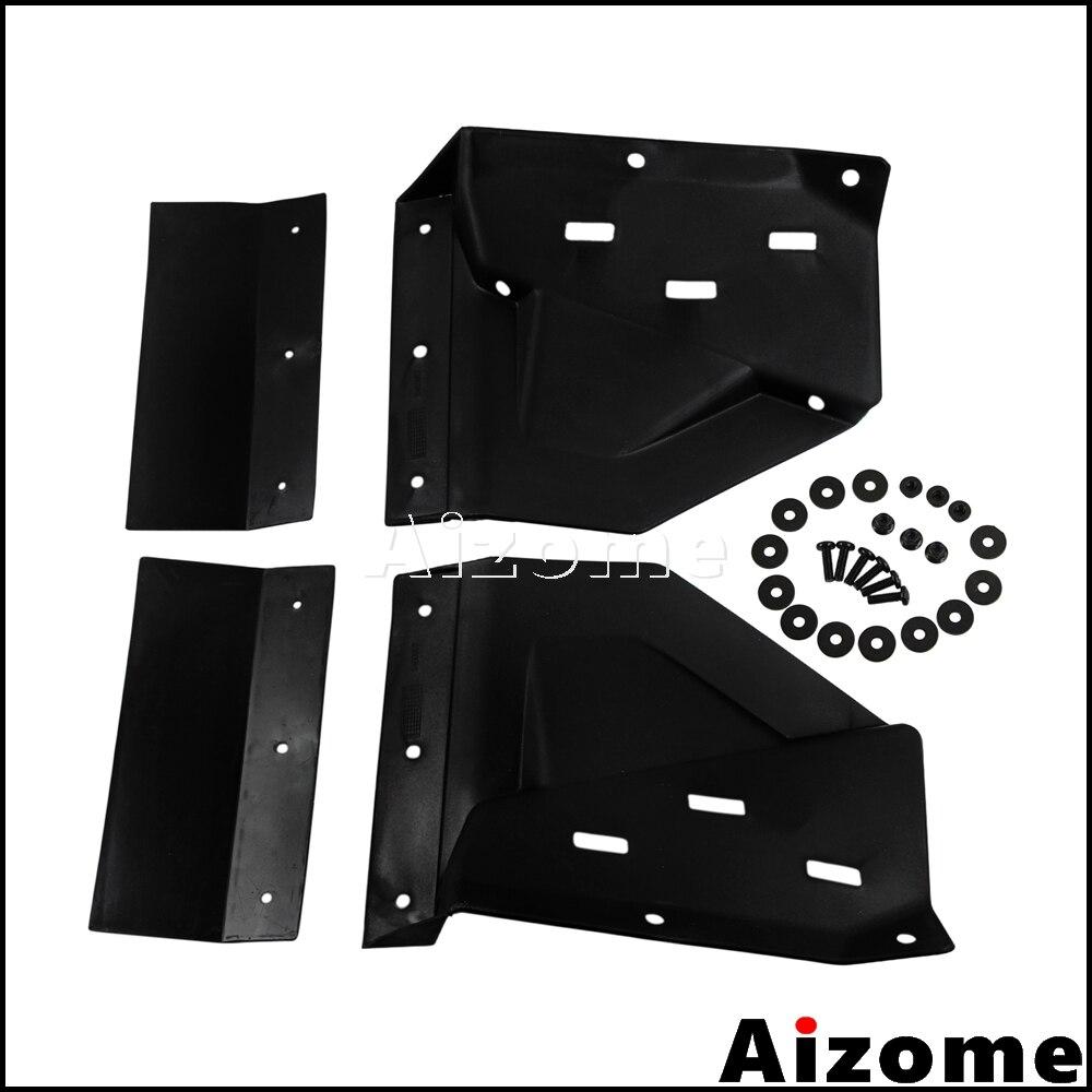 UTV Front Mud Flap Kit 2879938 For Polaris RZR XP 1000 XP4 1000 2014 2015 RZR