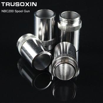 7pcs MIG NBC200 spool gun torch head accessory consumables shield cups for MAG NBC welding machine