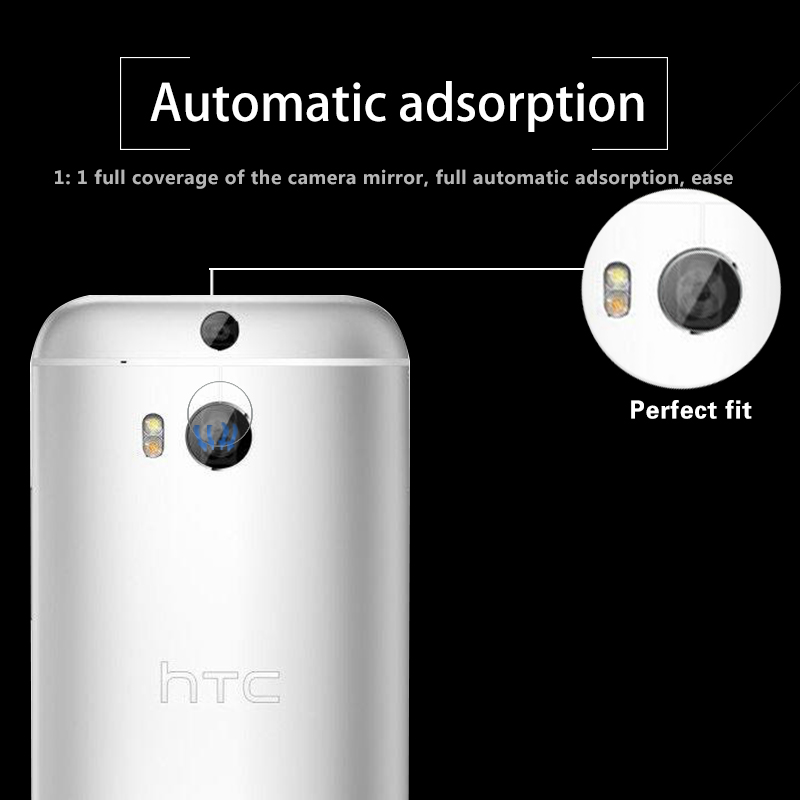 Ultrathin Back Camera Lens Tempered Glass Film For HTC one M8 M8t M8v M8c M8w Rear Lens Protective Film Glass With Cleaning Tool