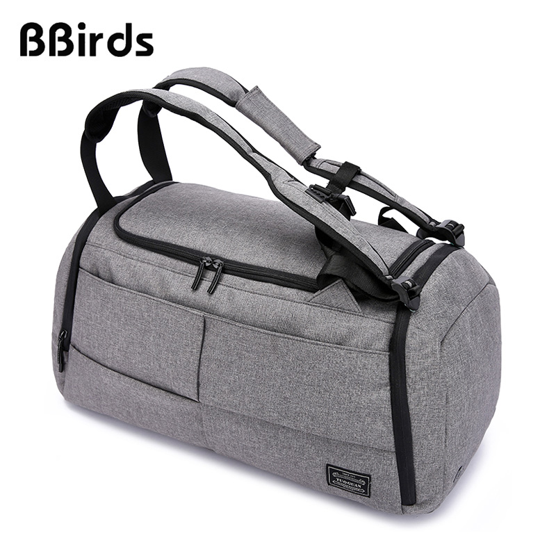 BBirds Travel Bag Multifunction Men 15 inch Laptop Backpacks Hand Luggage With Shoes Pocket Large Capacity Casual Duffle NylonBBirds Travel Bag Multifunction Men 15 inch Laptop Backpacks Hand Luggage With Shoes Pocket Large Capacity Casual Duffle Nylon