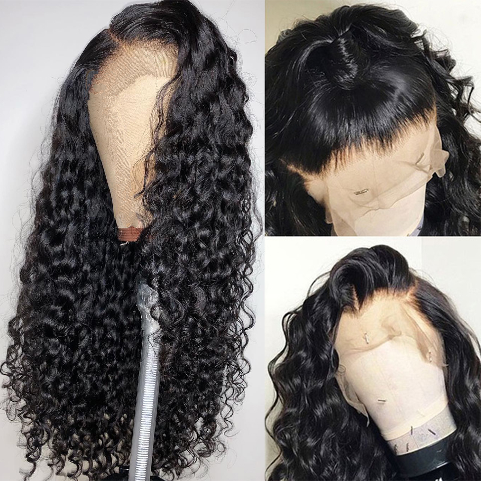 Lumiere Hair 13X4 Lace Front Human Hair Wigs Indian Loose Wave Remy Human Hair Wigs Natural